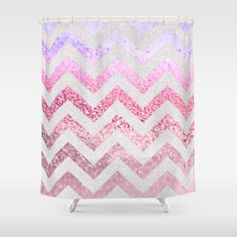 FUNKY MELON PINKBERRY Shower Curtain