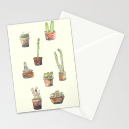 Cactus ensemble  Stationery Cards