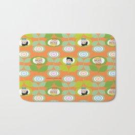 mabo & jimmy garden orange 2 Bath Mat