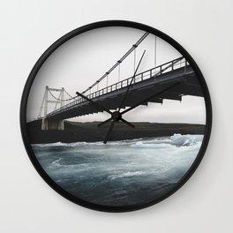 Lagoon Bridge Wall Clock