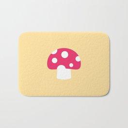 #55 Mushroom Bath Mat