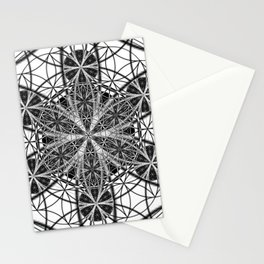 Down That Rabbit Hole - The Sacred Geometry Collection Stationery Cards