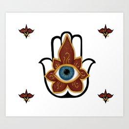 Khamsa Art Print