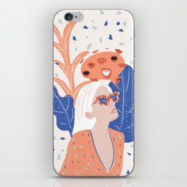 Thinkin About Kissin You iPhone Skin