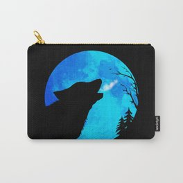 Hunter's Blue Moon Wolf Carry-All Pouch