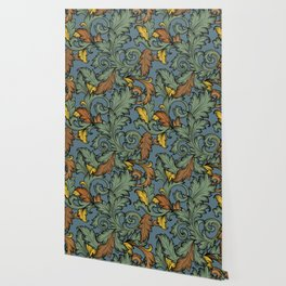 Acanthus Leaves Wallpaper
