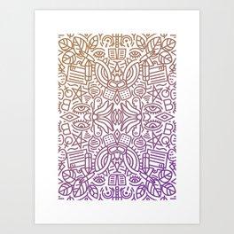 Decorative Pattern 2 Art Print