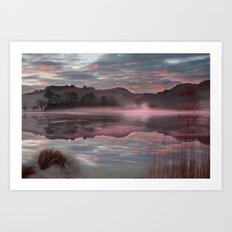 Rydal reflections Art Print