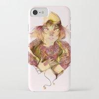 haikyuu iPhone & iPod Cases featuring Haikyuu!- Kozume Kenma Print  by Moody Pink