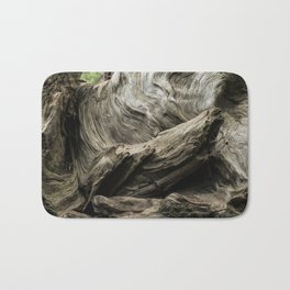 Etched by Nature Scarred by Man Bath Mat