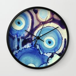 Evil Eye Tears Wall Clock