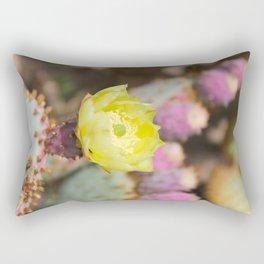 Opuntia Cactus Rectangular Pillow
