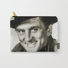 Kirk Douglas, Vintage Actor Carry-All Pouch