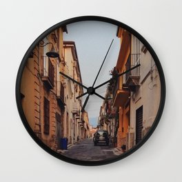 Streets of Italy Wall Clock