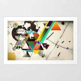 Flourine III Art Print