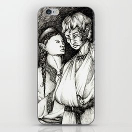 Does time grow limbs, cousin? iPhone Skin