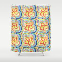Floral Summer Shower Curtain