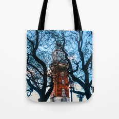 Building with Clock in Buenos Aires Tote Bag