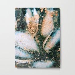 Chilled Cinnamon Coffee Metal Print