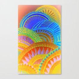 Shiftig Orbs Canvas Print