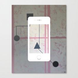 Sum Shape - iPhone graphic Canvas Print