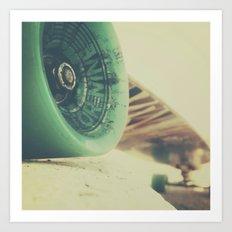Skate or Die || Curb Stop Art Print