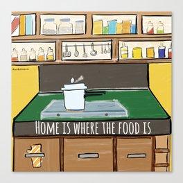 Home food Canvas Print