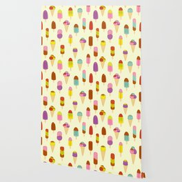 Ice Pops, Cream and Lollies Wallpaper