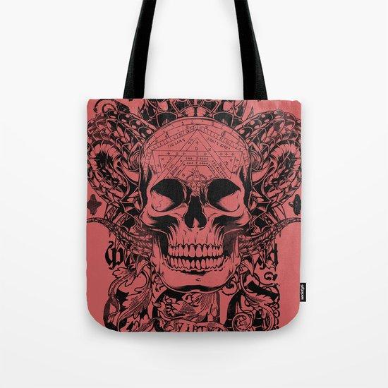 Cobra skull Tote Bag