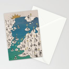 Lamp Lighter Stationery Cards