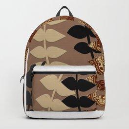 Patterned Vines Backpack