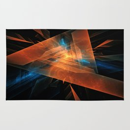 Triangular abstraction Rug