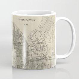 Vintage Map of Tacoma Washington (1907) Coffee Mug