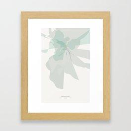 in it's true form Framed Art Print