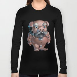 Slave Tumble in Chastity Long Sleeve T-shirt
