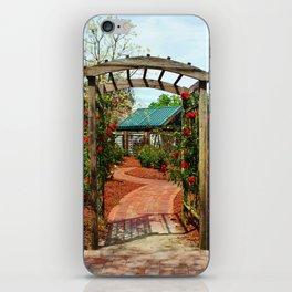 Rose Garden Entrance iPhone Skin