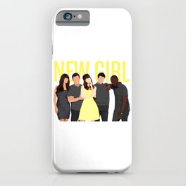 New Girl tv show iPhone Case
