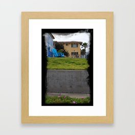 House on The Esplanade Framed Art Print