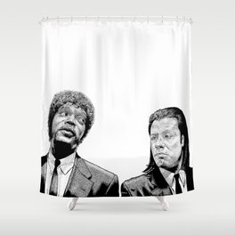 Pulp Fiction Shower Curtain