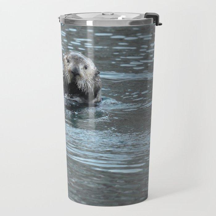 Sea Otter Fellow Travel Mug