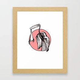 Too late, too soon Framed Art Print