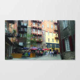 Vieux Quebec Canvas Print