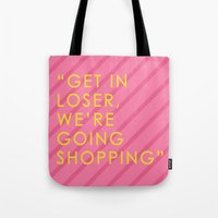 mean girls Tote Bags featuring Mean Girls by missmim