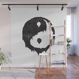 Ying Yang / Dark Light Wall Mural