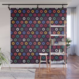 Colorful circles seamless pattern design background Wall Mural