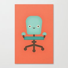 Office Chair Canvas Print