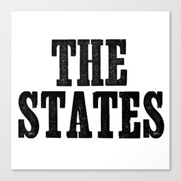 The States Canvas Print
