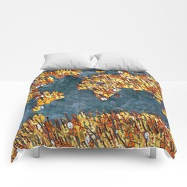 World Music Grunge Comforters