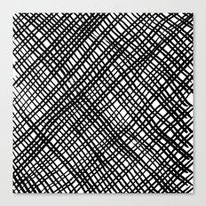 Fishnet Canvas Print
