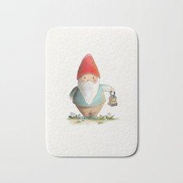 Lantern Gnome Bath Mat